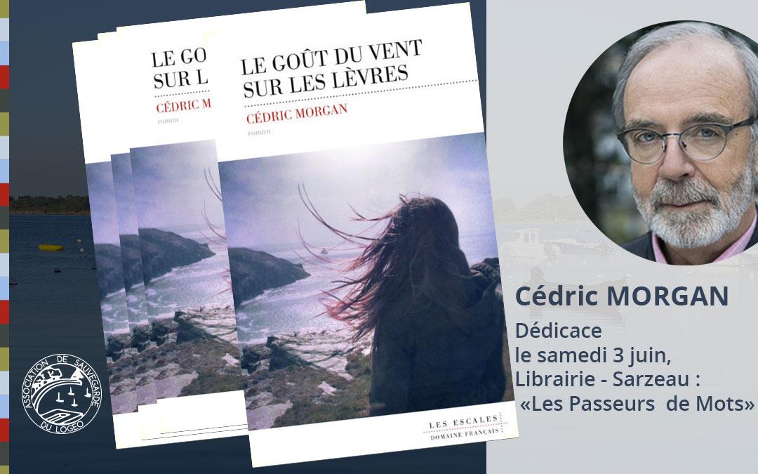 Cédric MORGAN habitant du Logeo, sort son dernier livre.