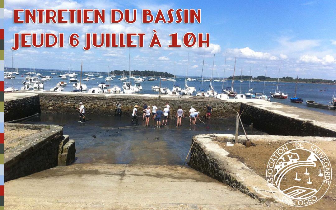 Entretien annuel du bassin du Logeo – jeudi 6 juillet