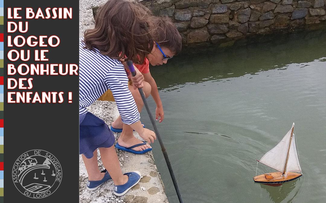 Le bassin du Logeo ou le bonheur des enfants !