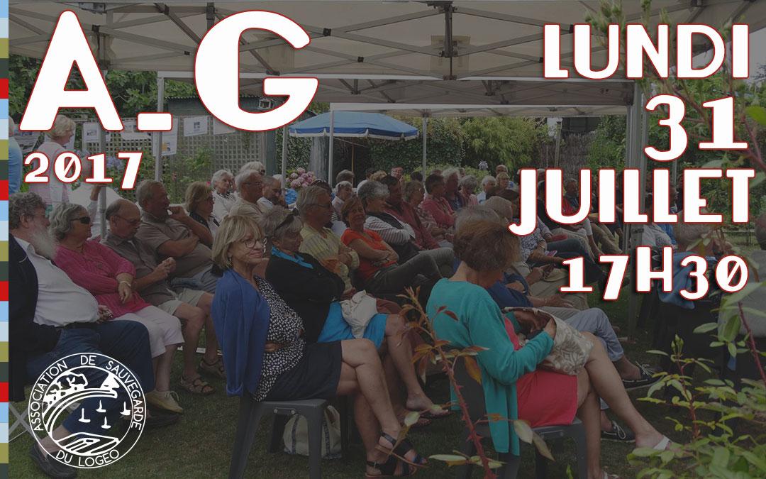 Assemblée Générale Annuellede l'Association de Sauvegarde du Logeo lundi31 juillet 2017