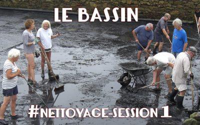 Nettoyage du bassin  #session 1