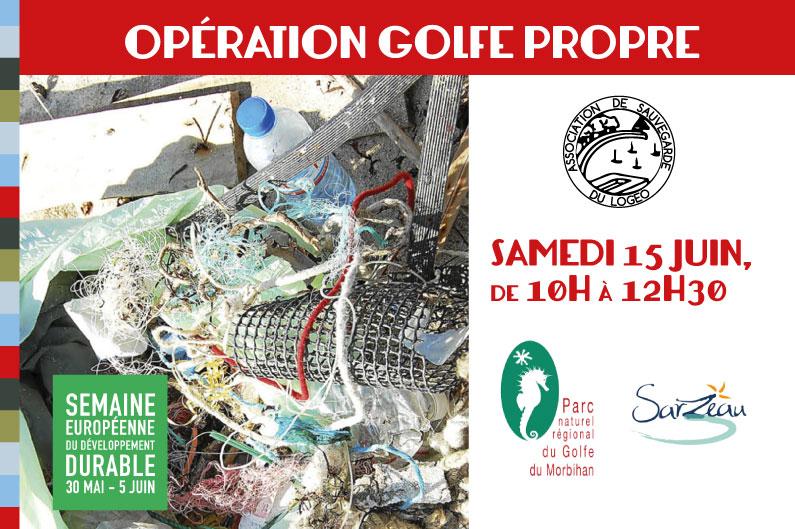 Opération de nettoyage des plages du Golfe du Morbihan !