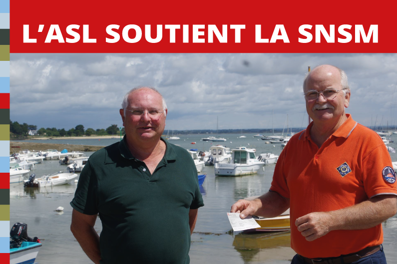 L'ASL soutient la SNSM
