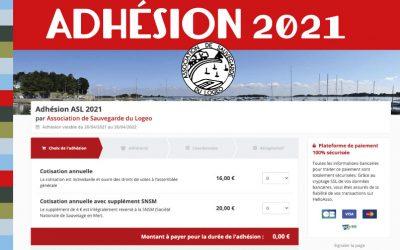 Adhésion 2021 !
